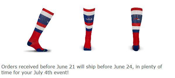 4th of july socks